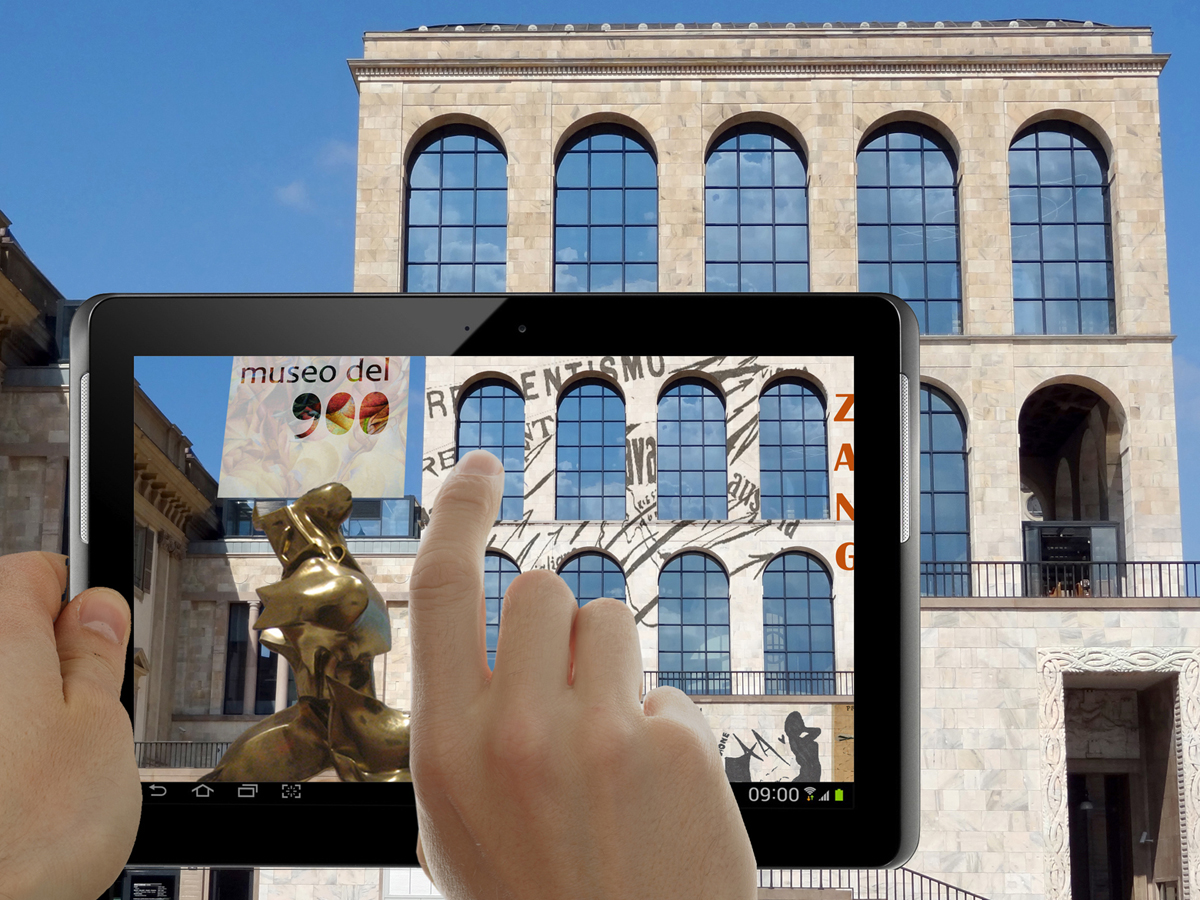 Augmented Reality citta arte