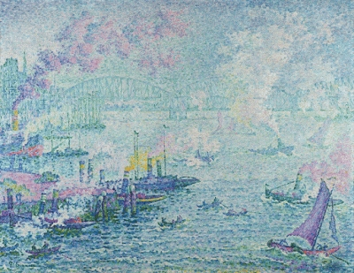 The Port of Rotterdam by Paul Signac, Museum Boijmans Van Beuningen